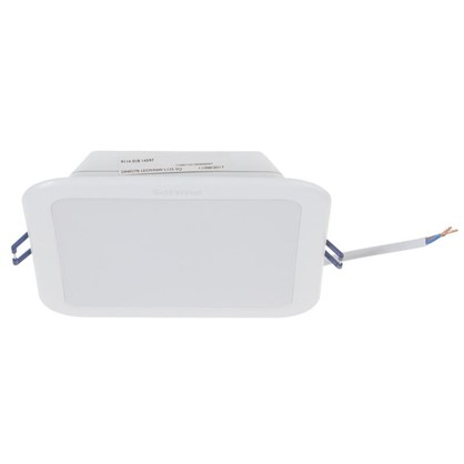 Встраиваемый светильник светодиодный DN027B 9 Вт квадрат цена