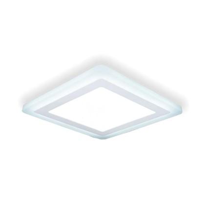 Встраиваемый светильник светодиодный Gauss Backlight BL125 квадратный 12/4 Вт 4000 K алюминий/акрил цвет белый цена