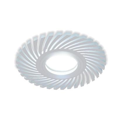 Встраиваемый светильник светодиодный Gauss Backlight BL133 круглый GU 5.3 3 Вт 4000 K алюминий/акрил цвет белый