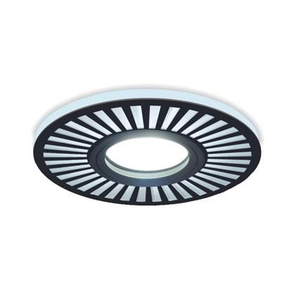 Встраиваемый светильник светодиодный Gauss Backlight BL135 круглый GU 5.3 3 Вт 4000 K алюминий/акрил цвет черный цена