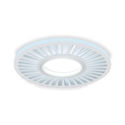 Встраиваемый светильник светодиодный Gauss Backlight BL136 круглый GU 5.3 3 Вт 4000 K алюминий/акрил цвет белый цена