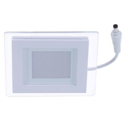 Встраиваемый светильник светодиодный квадратный Gauss 6 Вт стекло свет нейтральный цена