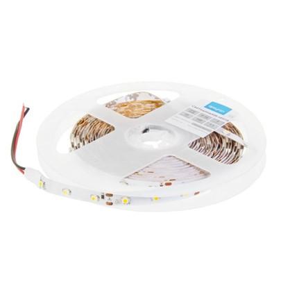 Светодиодная лента 4.8Вт/60LED/м свет теплый белый IP20 цена