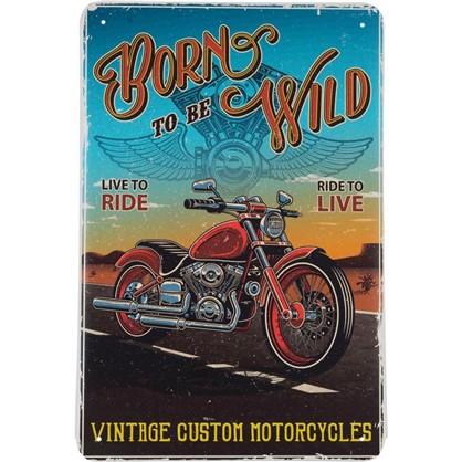 Табличка Born to be Wild 20х30 см