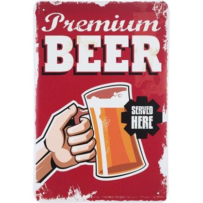 Табличка Premium Beer 20х30 см цена