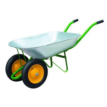 Тачка садовая на двух колёсах 170 кг/78 л в