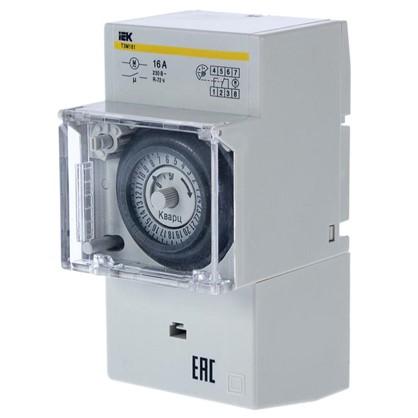 Таймер аналоговый ТЭМ181 на DIN-рейку 16 А 230 В цена