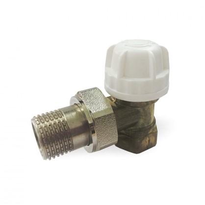 Термостатический комплект для радиатора угловой 1/2 дюйма цена