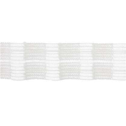 Тесьма шторная прозрачная 4 см цена