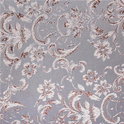 Ткань Цветы жаккард 285 см цвет голубой цена