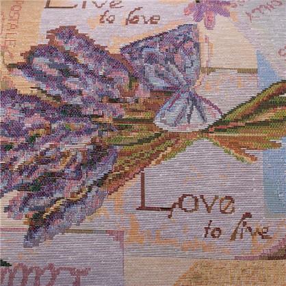 Ткань Лаванда гобелен 150 см цена