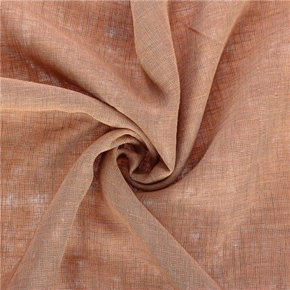 Ткань под лен 285 см цвет светло-коричневый цена
