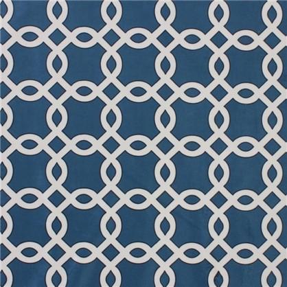Ткань велюр 280 см цвет синий
