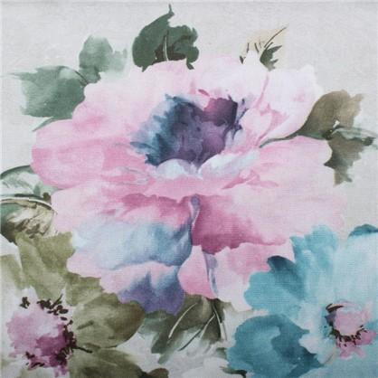 Ткань Алегандра 280 см цветы цвет серый цена