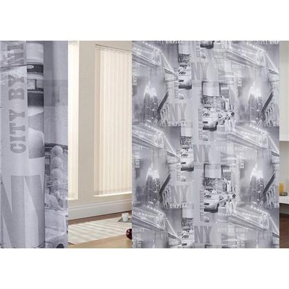 Ткань Город-газета 280 см цвет серый цена