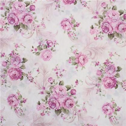 ткань Интерио розы  ширина 150 см цена
