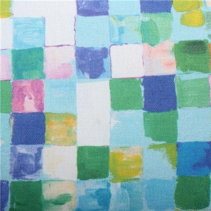 Ткань Турин клетка 280 см абстракция цена