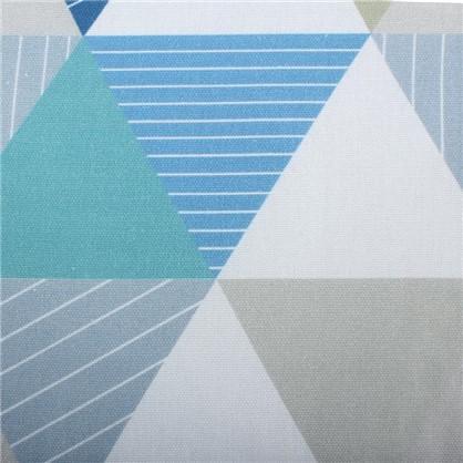 Ткань Турия 280 см абстракция цвет синий цена