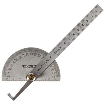 Транспортир с линейкой Archimedes 150 мм цена
