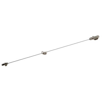 Трос с натяжным механизмом 3.5 м цвет хром цена