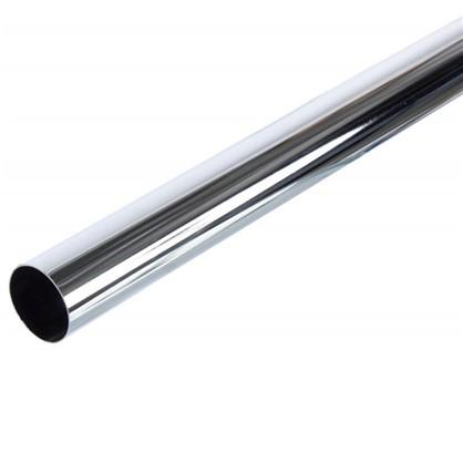 Труба d50х3000 мм цвет хром цена