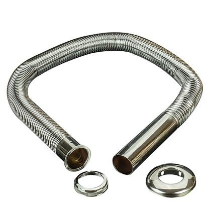 Труба гофрированная Vidage 32x900 мм металл