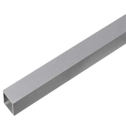 Труба квадратная 20х20х2000х1.5 мм алюминий цвет серебро цена