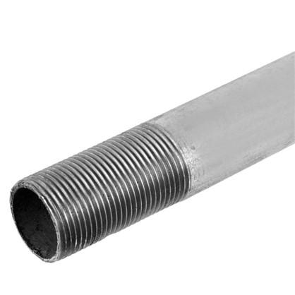 Труба с наружной резьбой d 25 мм L 2 м оцинкованный сталь цена