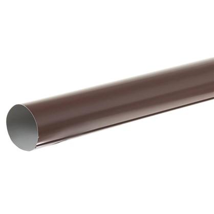 Труба водосточная 3000х90 мм цвет коричневый