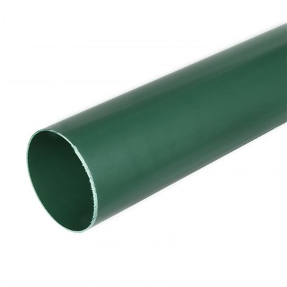 Труба водосточная 82x3000 мм цвет зелёный цена