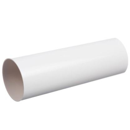 Труба водосточная Dacha 80 мм 1 м цвет белый цена