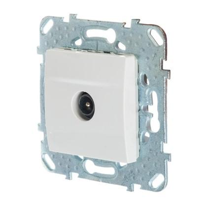 ТВ-розетка Schneider Electric Unica проходная цвет белый цена