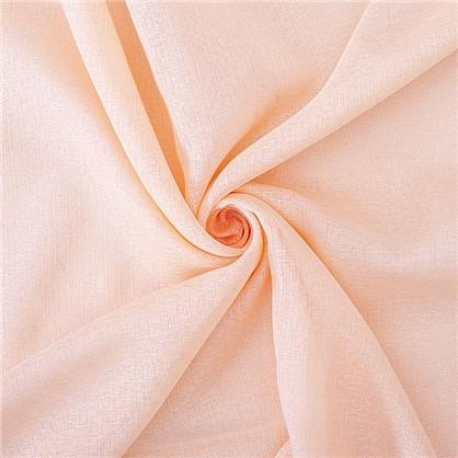 Тюль 1 п/м 280 см французский кристаллон цвет персиковый цена