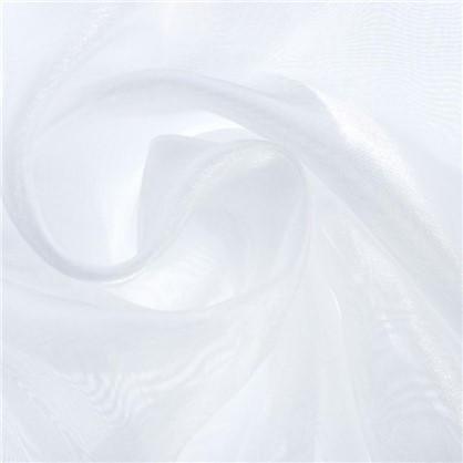 Тюль 1 п/м 280 см органза/сатин однотон цвет экрю цена