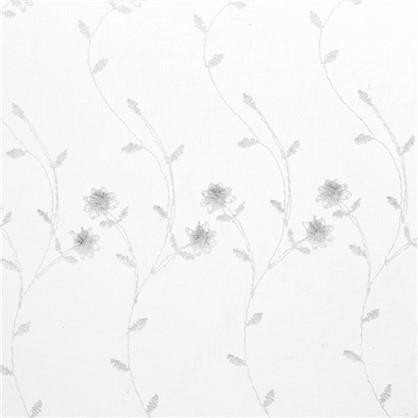 Тюль Цветы вышивка 285 см цвет белый цена