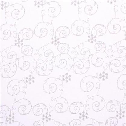 Тюль Каролина вышивка на сетке 280 см цвет бежевый цена