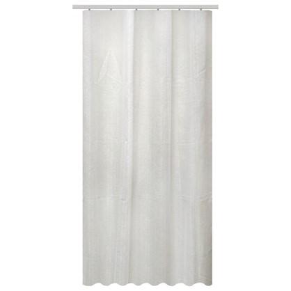 Тюль на ленте Bajados 140х260 см вуаль цвет белый