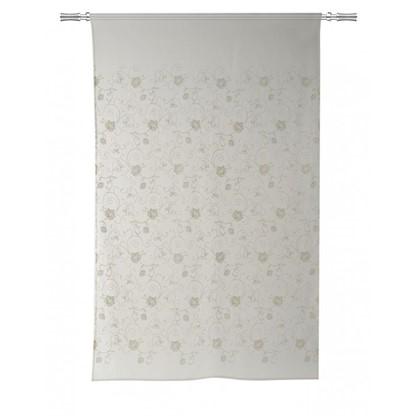 Тюль на ленте Caloundra 160х260 см вуаль цвет белый