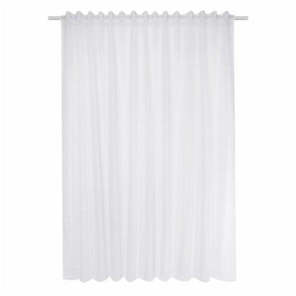 Тюль на ленте Coventry 290х280 см цвет белый