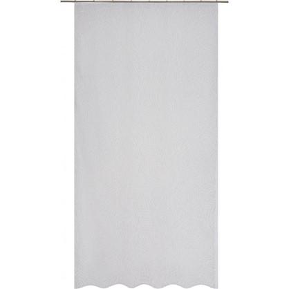 Тюль на ленте Кострома 140х260 см вуаль цвет белый цена