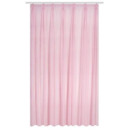 Тюль на ленте Лол 300х280 см цвет розовый цена