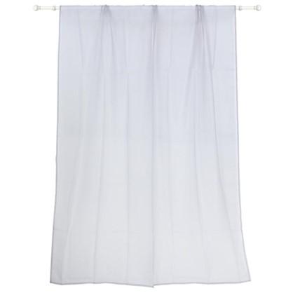 Тюль на ленте Polyone 140X260 см цвет серый цена