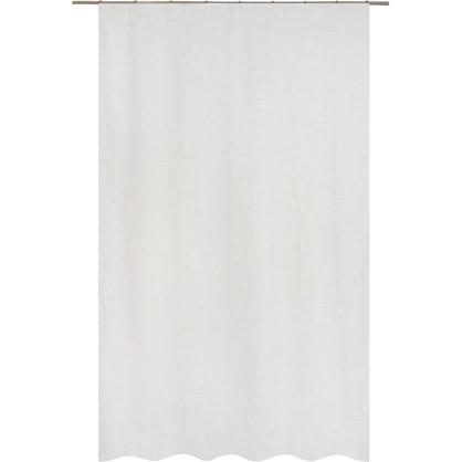 Тюль на ленте Rush 160х260 см вуаль цвет золотой белый цена