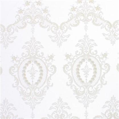 Тюль с вышивкой Султан сетка 290 см цвет кремовый цена