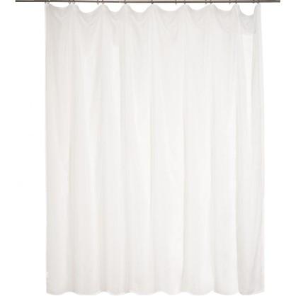 Тюль Softy на ленте 300х260 см цвет белый