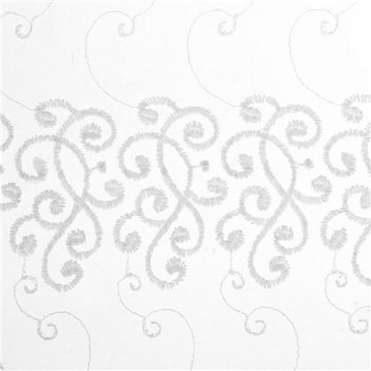 Тюль Узоры вышивка 285 см цвет шампань цена