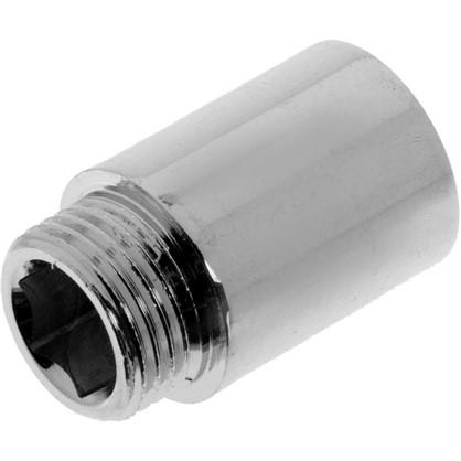 Удлинитель внутренняя резьба 1/2х30 мм цвет хром цена