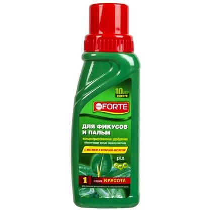 Удобрение Bona Forte для фикусов и пальм 0.285 л цена