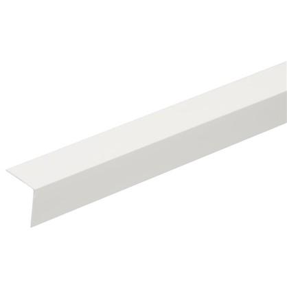 Угол 20x20x2700 мм ПВХ цвет белый цена