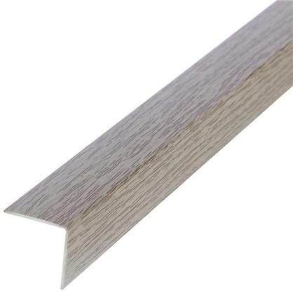 Угол 20x20x2700 мм ПВХ цвет дуб аляска цена